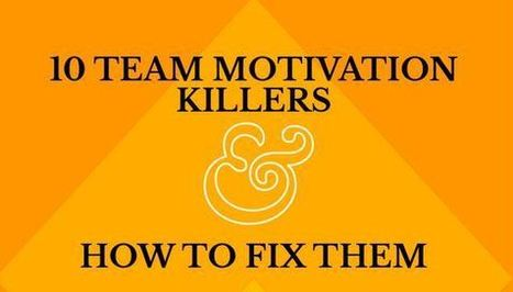 10 erreurs de management qui tuent la motivation de vos équipes - cadreo.com | ressources Humaines | Scoop.it