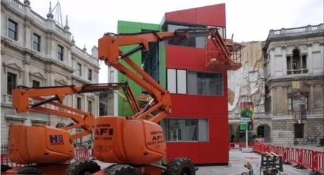 Impressive Timelapse of the Day: A Multi-Story House Built in Just One Day | Real Estate Plus+ Daily News | Scoop.it