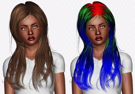Newsea Roam hairstyle retextured by Chantel Sims | Sims 3 Downloads | Scoop.it