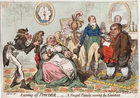 The Demise of the Powdered Wig, 1795 | History Curiosity | Scoop.it