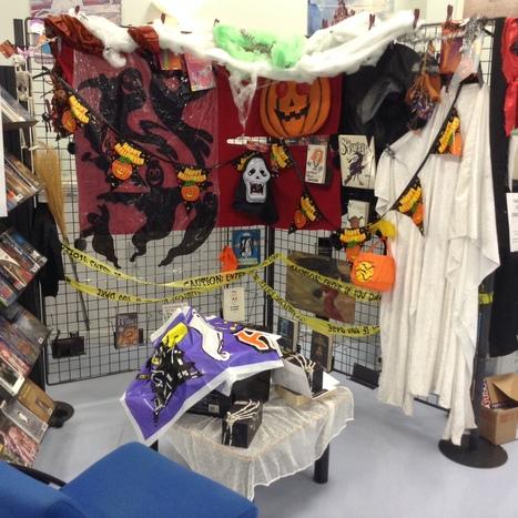 Le CDI décoré à l'ambiance d'halloween... | Derniers articles du site! | Scoop.it