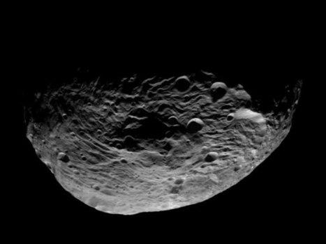 Image: Vesta's South Pole As Seen From Orbit | Skylarkers | Scoop.it