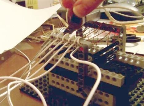 Make a Keyboard Sound like a Strummed Guitar with LEGOs & #Arduino  #MusicMonday | Arduino, Netduino, Rasperry Pi! | Scoop.it