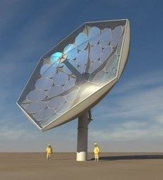 IBM Solar Collector Magnifies Sun By 2000X – These Could Provide Power To The Entire Planet | Space versus Oil | Scoop.it