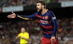 Barcelona's Gerard Piqué faces up to 12 weeks out for rant at assistant referee - The Guardian | AC Affairs | Scoop.it