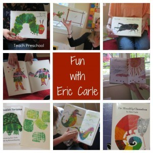 A wonderful collection of Eric Carle books and activities | Teach Preschool | Scoop.it