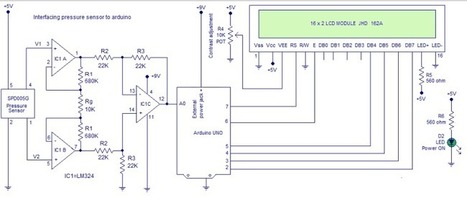 Interfacing pressure sensor to arduino | Arduino, Netduino, Rasperry Pi! | Scoop.it