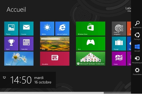 Windows 8 (1/9) : les innovations ergonomiques | Windows 8 analyse | Scoop.it