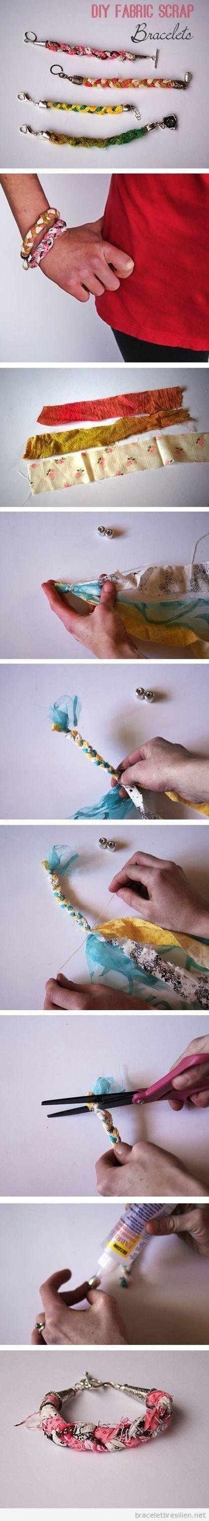 Bracelet DIY réalisé avec des coupons, tuto | Bracelets Brésiliens | Tout sur comment réaliser bacelets brésiliens et bracelets en macramé | Bricolage pour mes enfants | Scoop.it