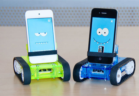 Romo Smartphone Android and iOS Robot | Multi Media | Scoop.it