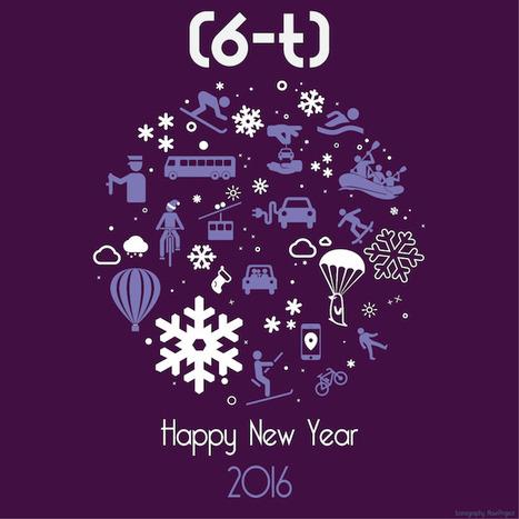 Toute l'équipe de 6t vous souhaite une belle année 2016 ! #HappyNewYear   Mobilités, modes de vie et modes de ville   Scoop.it