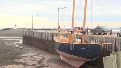Hand-built Nova Scotia schooner hoping to sail Saturday | Nova Scotia Art | Scoop.it