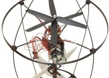 Insect-inspired flying robot smacks panes sans pain   Robots and Robotics   Scoop.it