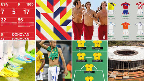 The Best And Worst Design Of The 2014 World Cup | Creative_me | Scoop.it