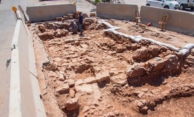 Section of Jaffa-Jerusalem road unearthed in capital | Jewish Education Around the World | Scoop.it