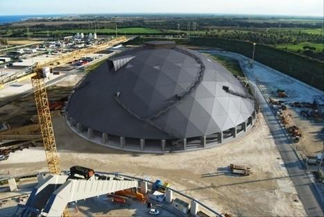 Edilizia in legno, il cantiere delle cupole per la centrale Enel - EdilOne | Il mondo delle strutture | Scoop.it