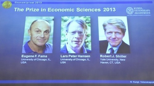 The economics Nobel goes to: Eugene Fama, Lars Hansen and Robert Shiller | Telcomil Intl Products and Services on WordPress.com