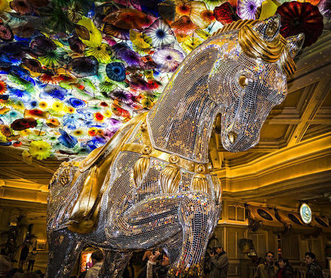 Bellagio Mosaic Horse Photograph by Jon Berghoff | Mosaic Horse | Scoop.it