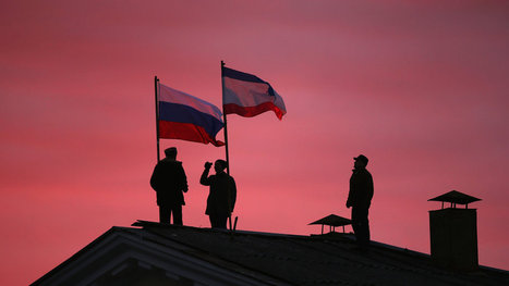 """Putin Recognizes Crimea Secession, Defying the West 