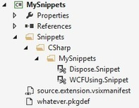 Shipping Visual Studio snippets in an extension | .NET API-Libraries-Tools | Scoop.it
