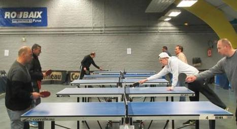 Roubaix : le tournoi de tennis de table attire 300 patients issus de la psychiatrie | ping pong 44 | Scoop.it