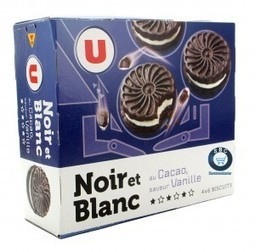 """""""Me-too"""" private label of Oreo in France - Les MDD Me-too Oreo. 