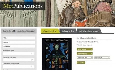 Libros gratuitos de historia del arte en Internet | Artistica visual en la escuela | Scoop.it