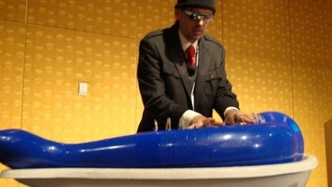 """This """"Cyborg"""" Builds Instruments out of Water: Video 
