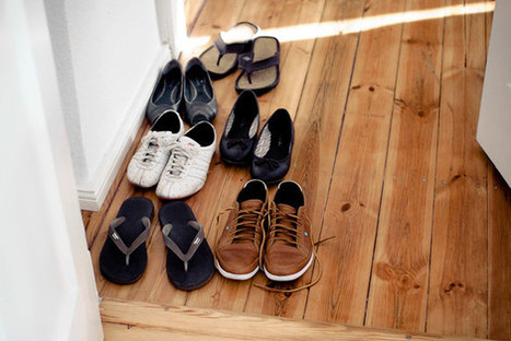 At home, is it better to go sans shoes? | It's Show Prep for Radio | Scoop.it