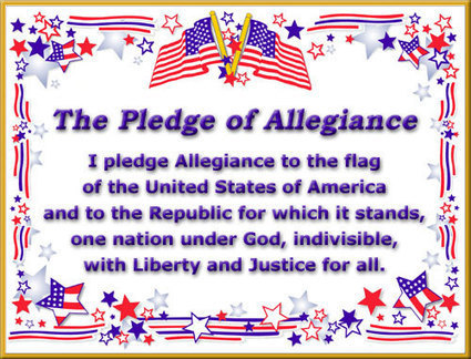 Pledge of Allegiance | American Civics | Scoop.it