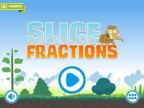 Slice Fractions et les fractions deviennent un jeu d'enfant | L'enfant et les écrans | Scoop.it