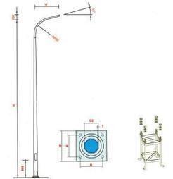 Tiêu chuẩn chung cột đèn cao áp chiếu sáng ~ Đèn cao áp - Cột đèn cao áp - Tủ điện chiếu sáng Phúc tiến   lap dat internet fpt   Scoop.it