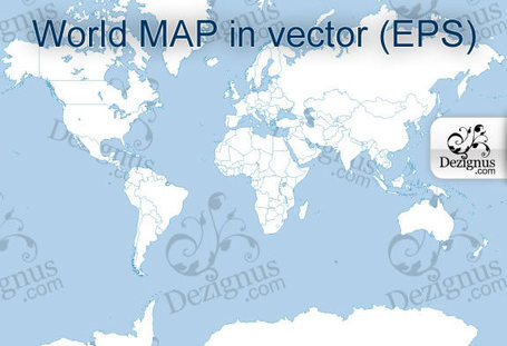 Vector World Map Collection | OpenMap | Scoop.it