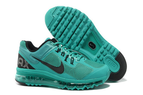 Mens Air Max 2013 Atomic Green Black Shoes Shoes | popular list | Scoop.it