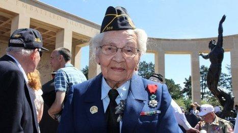 D-Day : Stéphanie Trouillard de France24 à la rencontre de ses héros d'enfance en Normandie | Nos Racines | Scoop.it