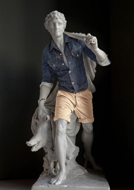 Classical sculptures dressed as hipsters look contemporary and totally badass | Langues anciennes | Scoop.it