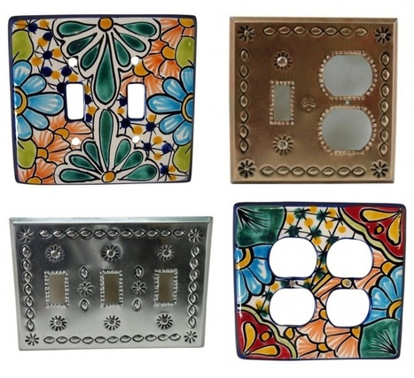 HAND PAINTED SWITCH PLATE COVER | Home Decor | Scoop.it