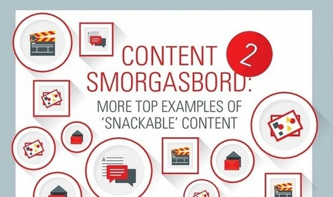 #ContentMarketing: Tips for Driving Engagement With Snackable Content - #infographic | wearable and moving marketing | Scoop.it
