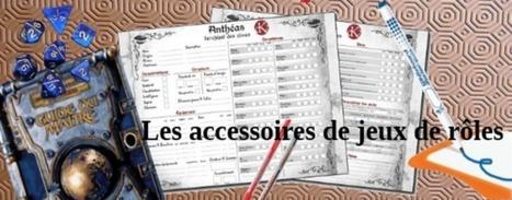 Les accessoires dans les jeux de rôle | Jeux de Rôle | Scoop.it