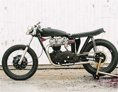 "Inazuma café racer: ""Trump"" by Loaded Gun Customs 