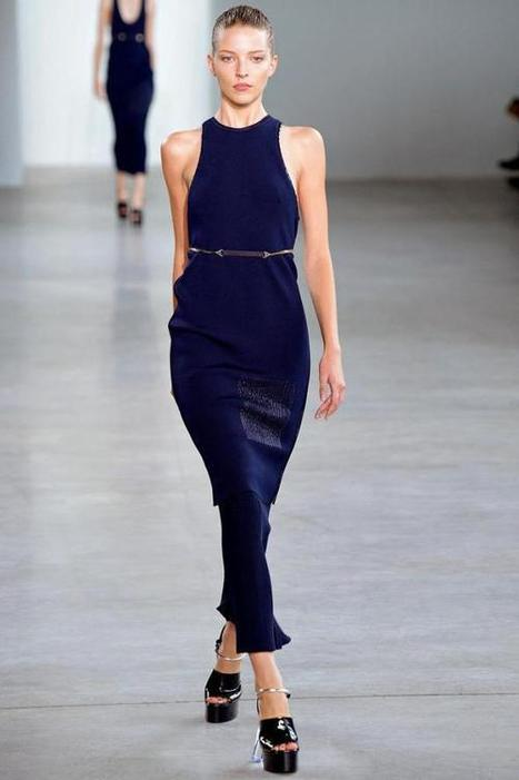 SPRING 2015 CALVIN KLEIN COLLECTION | World of Fashion!! | Scoop.it