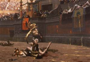 Gladiator's tombstone: Blame my death on ref | 21st C - Exponential Education | Scoop.it