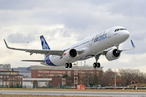 A321neo takes to the sky for the first time | Aviation & Airliners | Scoop.it