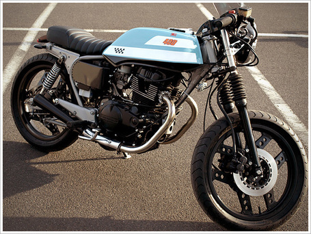 ATJ Project's '83 Honda CB400 Café Racer | Cafe Racers | Scoop.it