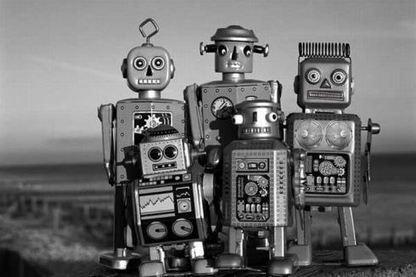 I <3ROBOT   Vintage, Robots, Photos, Pub, Années 50   Scoop.it