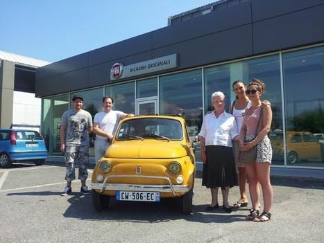 OLTRE 1500 KM ALLA GUIDA DI UNA FIAT 500 DA PARIGI A VALVASONE PER PARTECIPARE ALLA TAPPA 2013 « Fiat 500 alla conquista del Friuli – Il blog | Fiat 500 | Scoop.it