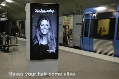 Swedish subway digital stunt sends woman's hair flying   Marketing Magazine   Astound! Fashion marketing & communication   Scoop.it