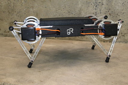 Ghost Minitaur: Ένα ρομπότ με συμπεριφορά κατοικίδιου | e-ΦΥΣΙΚΗ | Scoop.it