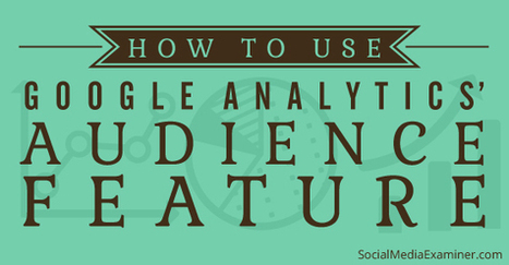 How to Use Google Analytics Audience Data to Improve Your Marketing | Social Media, SEO, Mobile, Digital Marketing | Scoop.it