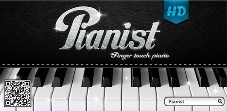Pianist HD - Finger Tap Piano - Applications Android sur GooglePlay | Android Apps | Scoop.it
